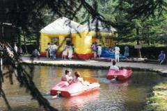 piscine à boules gonflabe