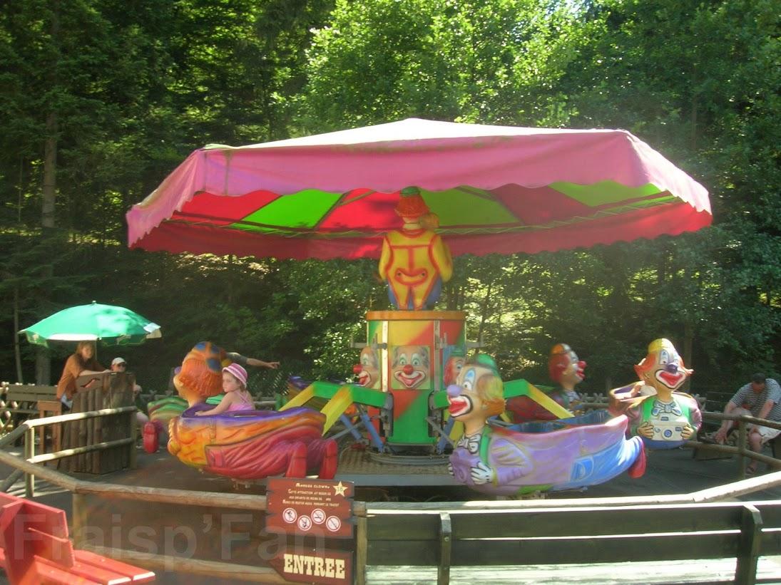 Disparue - Manege clown - 2