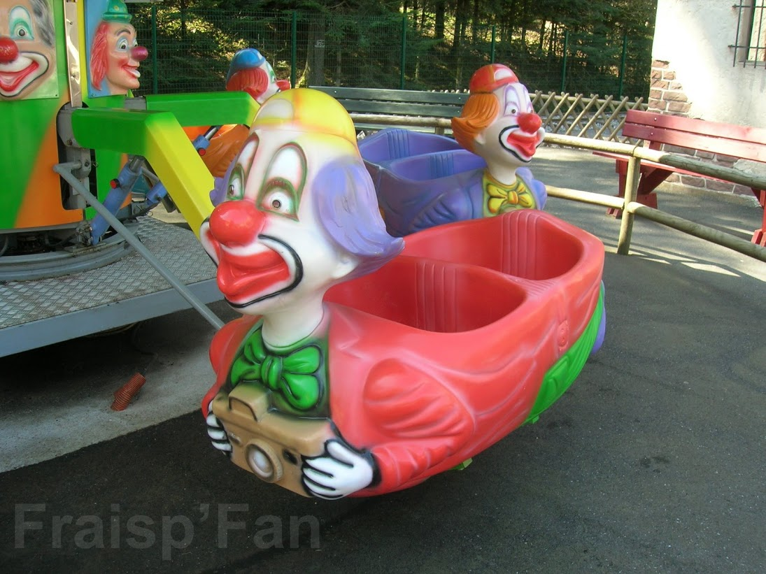 Disparue - Manege clown - 5